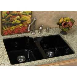 kitchen sinks undermount white black stainless steel