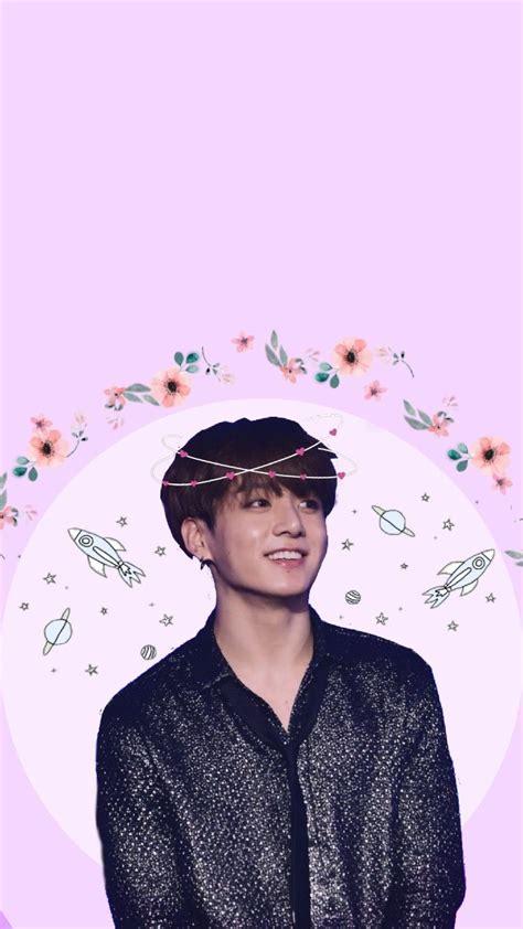 bts jungkook wallpaper pastel kpop aesthetic