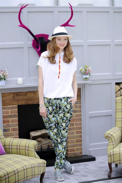 lily cole house lily cole at house of fraser garden at the chelsea flower