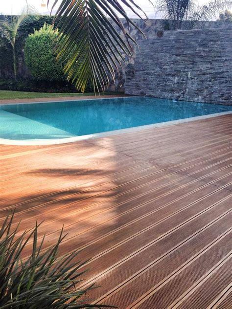 bamboo decking treated  decking oils  garapa oil