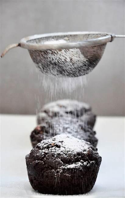 Chocolate Muffins Vegan Dark Sugar Muffin Dust
