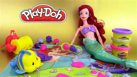 play doh bijoux ariel s jewels gems p 226 te 224 modeler disney princesse