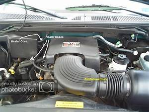 Inlet Heater Hose 1997 Ford Expedition