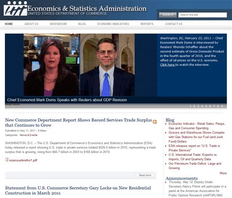 us department of commerce bureau of economic analysis computerized investing