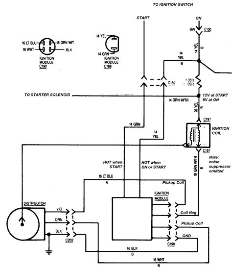 Distributor Cap Wiring Diagram Ford