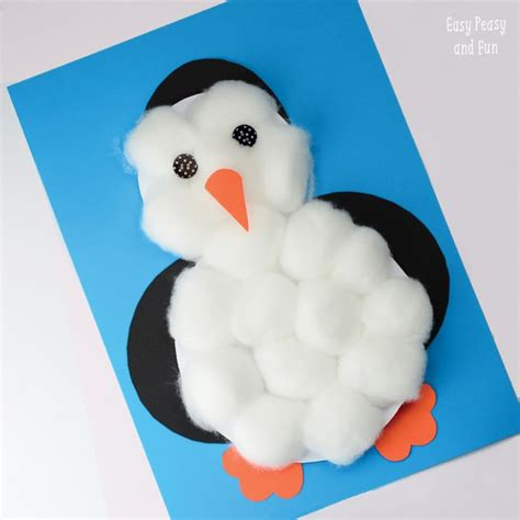 winter crafts for to make and craft ideas 135   Penguin Craft 1