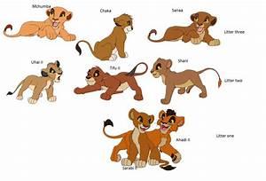 Cubs of Kovu and Kiara by WoefulWriters on DeviantArt