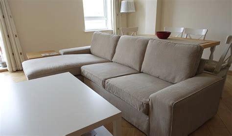 Ikea Three Seat Sofa And Chaise Longue (model. Kivik
