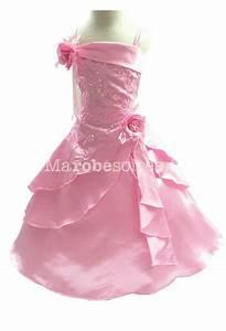 robe de soiree fille enfant longue With couleur pour bebe garcon 12 robe longue de ceremonie rose broderie