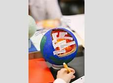 Earth Models in 6th Grade Brook Hill School Tyler, TX
