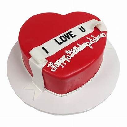 Cake Heart Birthday Shape Shaped Cakes Delivery