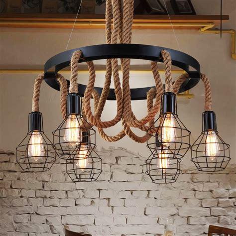buy retro pendant lights industrial cage