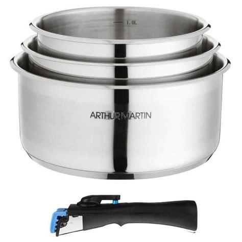 batterie de cuisine pas cher batterie de cuisine arthur martin achat vente batterie