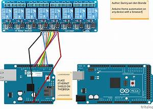 Arduino Schaltplan Editor : arduino mega 2560 home automation with 8 channel relay ~ Haus.voiturepedia.club Haus und Dekorationen