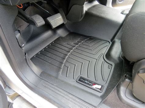 weathertech floor mats chevy silverado 2013 chevrolet silverado weathertech front auto floor mat single piece black