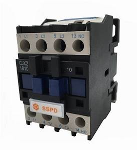 New 3 Or 4 Pole Magnetic Ac Contactor Cjx2 1810 30