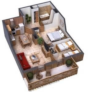 one bedroom house floor plans casas pequenas conheça fachadas projetos dicas e decoração