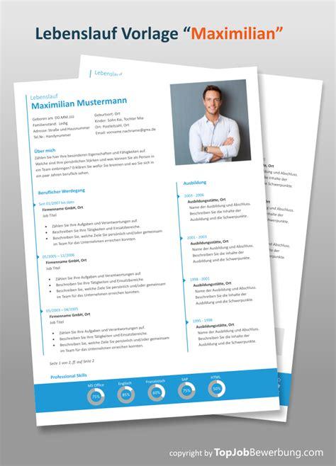 Professioneller Lebenslauf by Mit Der Professionellen Lebenslauf Design Vorlage In