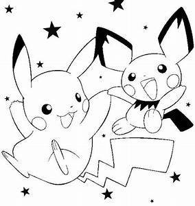 Fun Craft For Kids  Pokemon Coloring Pages