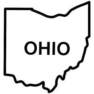 wedding registry home improvement ohio state outline decal sticker black 5