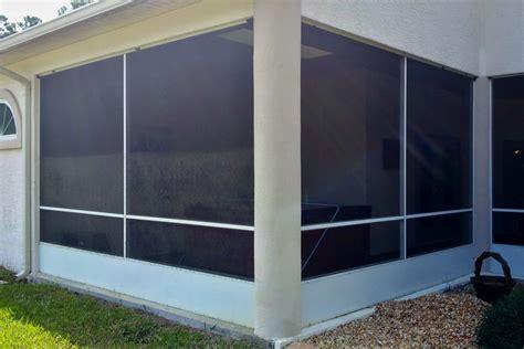 screen patio repair photos i do that screen repair barrister ln palm coast