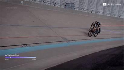 Athletes Olympic Paint Sensors Biometric Race Bike