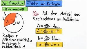 Kegel Höhe Berechnen : kreisausschnitt berblick mathematik online lernen ~ Themetempest.com Abrechnung