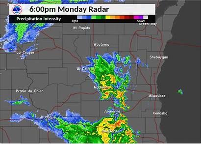Radar Snow Loop 6pm 6am Weather January