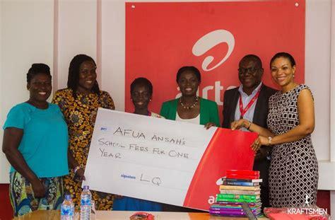 Spelling Bee Champion Gets Airtel Ghana Scholarship