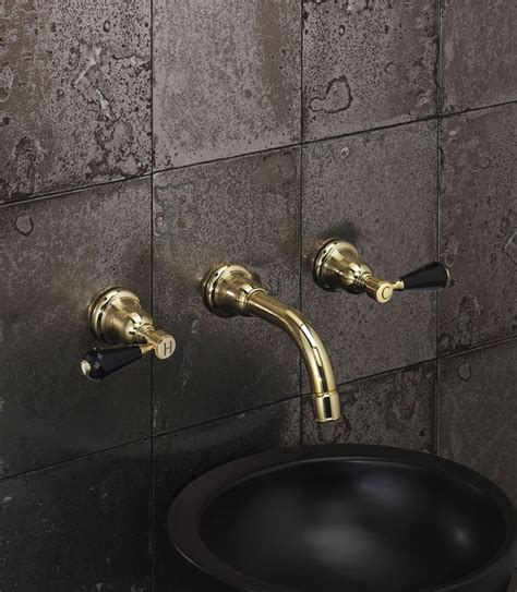 fairfield wall mounted basin filler in new non lacquered