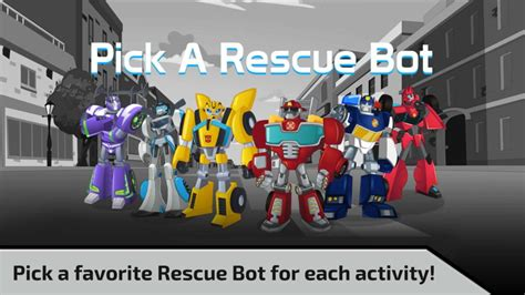 transformers rescue bots   speed playdate digital