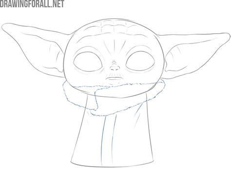 draw baby yoda  child drawingforallnet