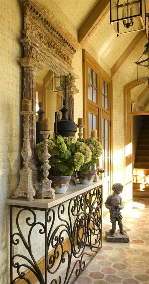 french country entryway table create impact with console tables in the entry