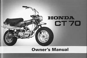 Honda Ct70 Owners Manual