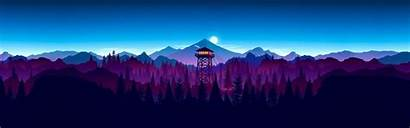 4k Ultrawide Firewatch Teahub Io Itl Tower