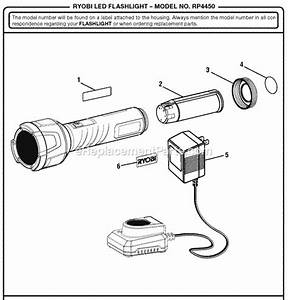 Ryobi Rp4450 Parts List And Diagram   Ereplacementparts Com
