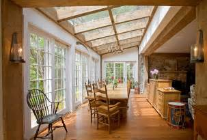 outside kitchens ideas 27 dining rooms with skylights that the show