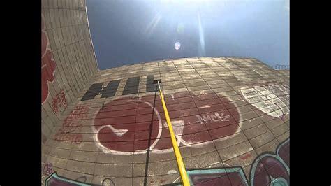 hoping paint roller graffiti art gopro youtube