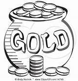 Gold Pages Leprechaun Pot Coloring Leprechauns Pots Irish Colouring Bollywood Celebrities sketch template