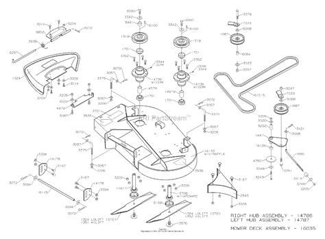 dixon speedztr   parts diagram  mower deck