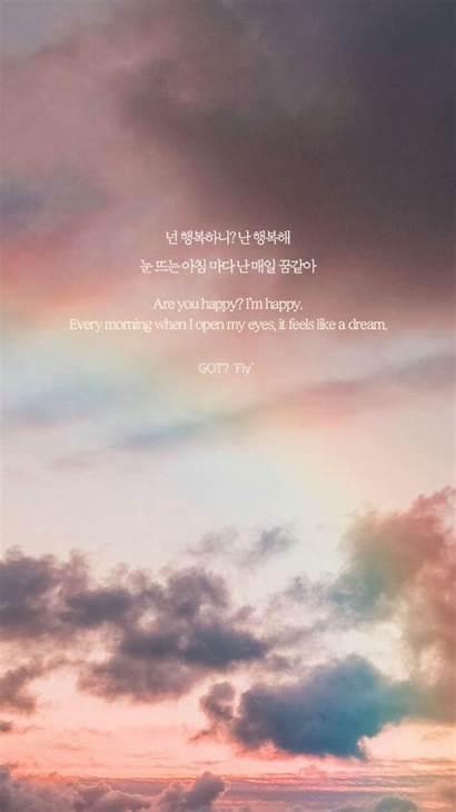 Quotes Kpop Korean Lyrics Aesthetic Got7 Song