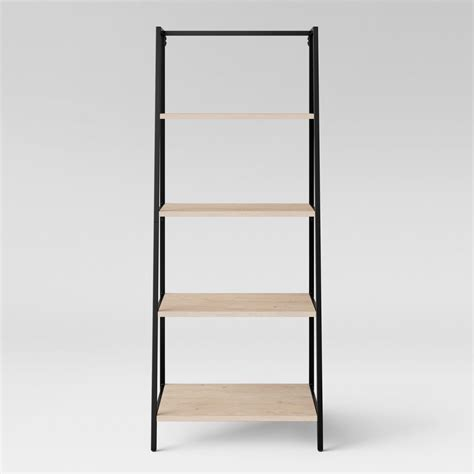 trestle 5 shelf bookcase white threshold bookcases upc barcode upcitemdb com