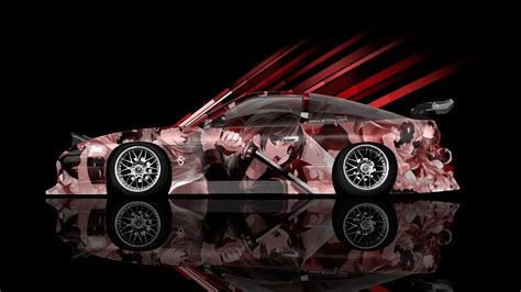 nissan sx jdm side anime aerography car  el tony