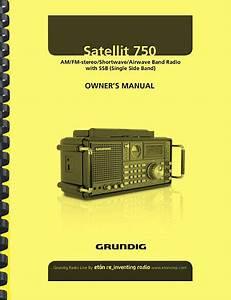 Grundig Satellit 750 Shortwave Radio Receiver Owner U0026 39 S