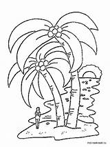 Palm Coloring Tree Pages Printable Colouring Leaf Template Trees Drawing Redwood Templates Recommended Coconut Colors sketch template