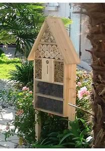 Nichoir A Insecte : hotel a insectes m hors sol achat nature ~ Premium-room.com Idées de Décoration