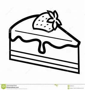 Cake Black And White Clipart - Clipart Suggest