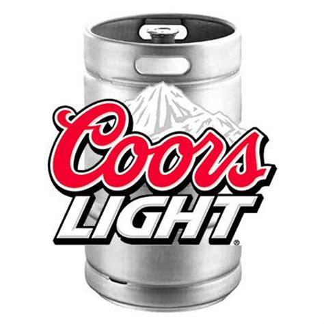 Coors Light Keg  Bj Supplies  Cash & Carry Wholesale