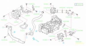14828aa050 - Pump Assembly-secondary Air  System  Manifold  Intake  Engine  Cooling