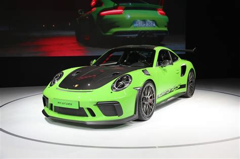 I mean, you can digest the claimed numbers—a few hundred more pounds of this and that at some speed—but you'll never be able to verify them. 2018 Porsche 911 GT3 RS (991.2) Weissach Slot - NOW SOLD - Supercars For Sale